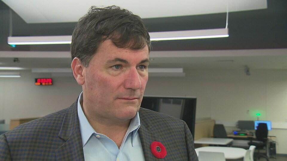 Dominic LeBlanc, ministre des Pêches, des Océans et de la Garde côtière canadienne.