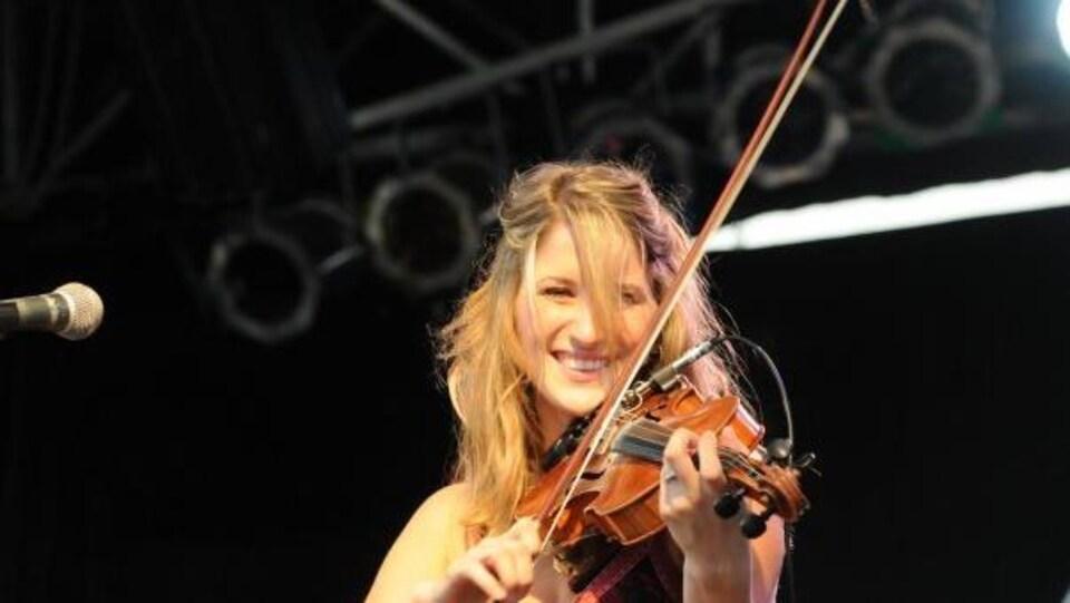 La violoniste Dominique Dupuis