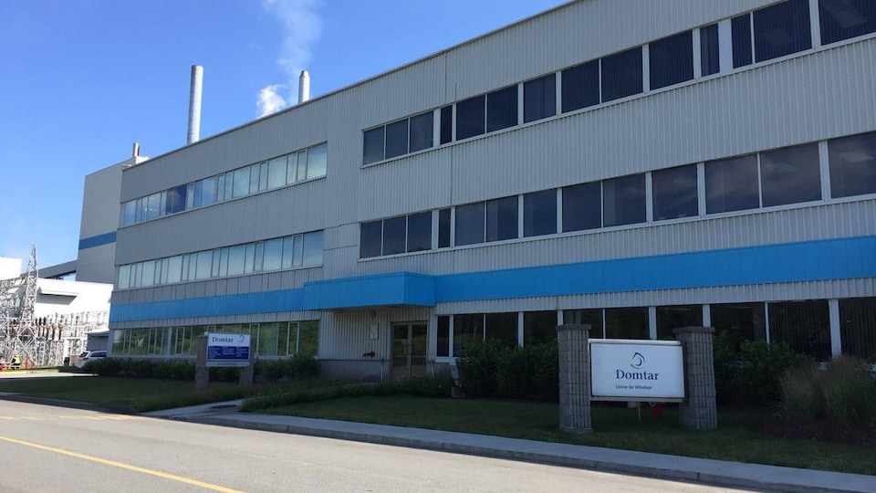 L'usine Domtar de Windsor en Estrie