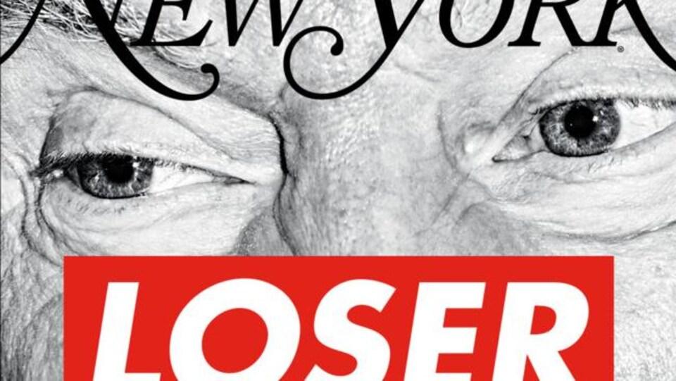 La une du New York Magazine le 13 novembre 2016