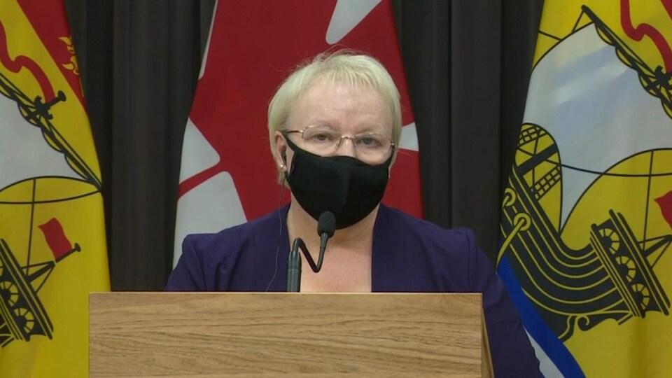La ministre de la Santé du Nouveau-Brunswick, Dorothy Shephard, le 6 janvier 2021.