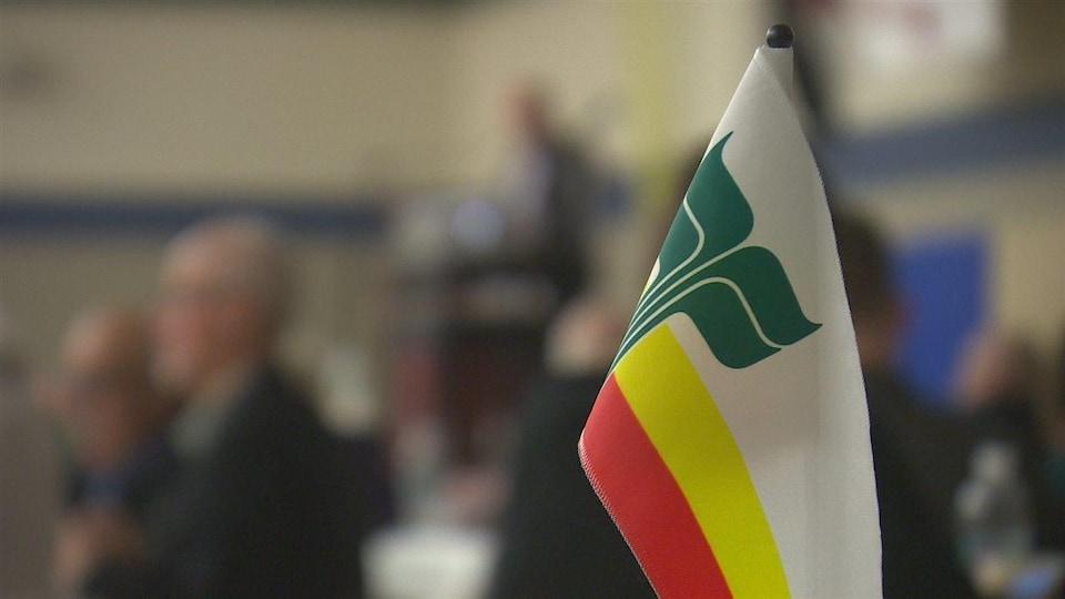 drapeau franco-manitobain