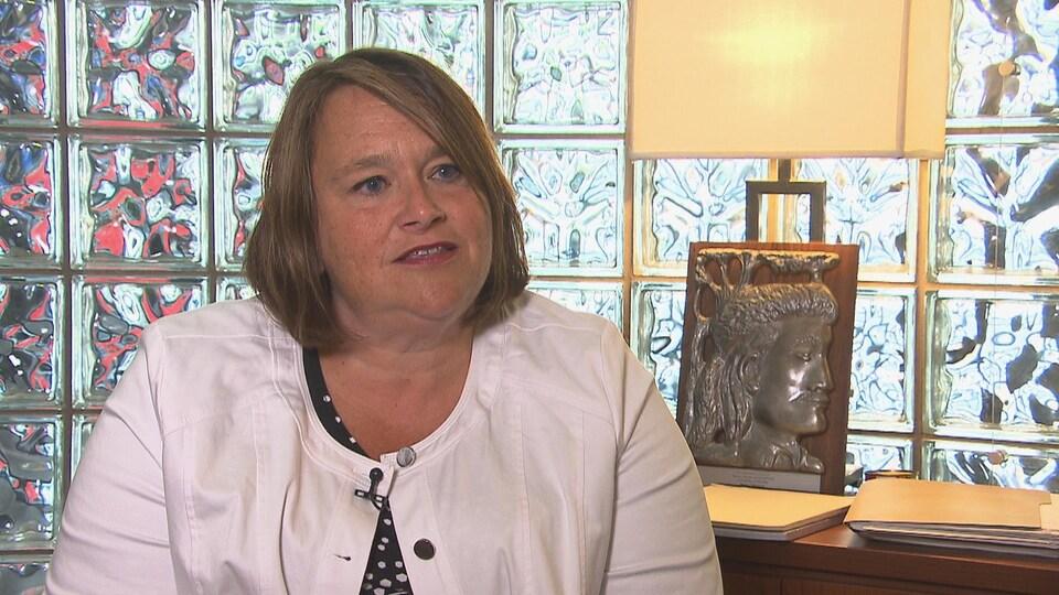 Dre Anne-Marie Grenier, directrice des services professionnelles et de la pertinence clinique au CIUSSS MCQ