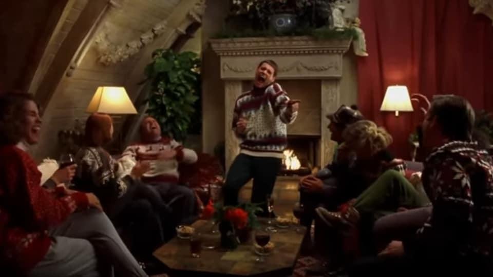 Image extraite du film La cloche et l'idiot, avec Jim Carrey, sorti en 1994.