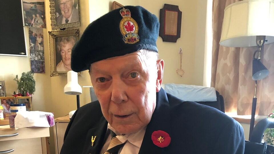 Earl Joseph Kennedy a participé au débarquement en Normandie, en 1944.