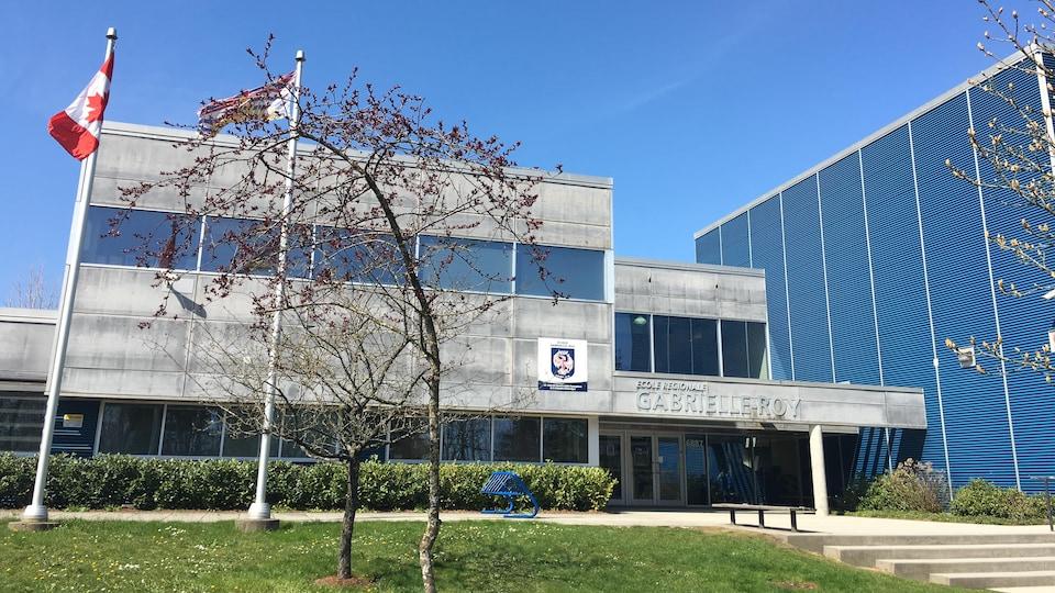 L'école Gabrielle Roy à Surrey
