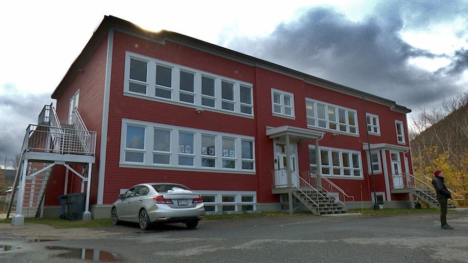 L'école de Marsoui.