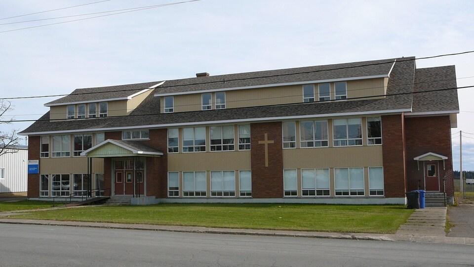 L'école primaire de Saint-Alexis-de-Matapédia.