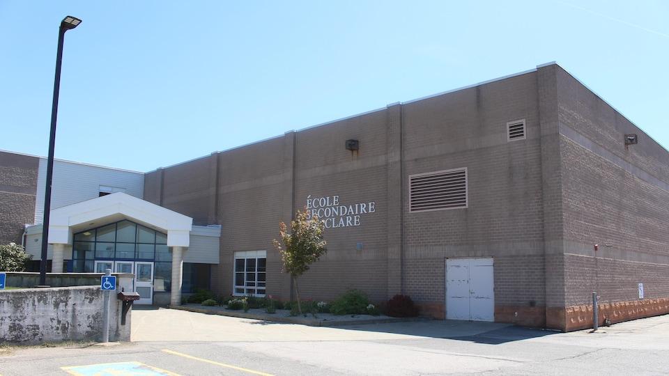 L'École secondaire de Clare, dans le sud-ouest de la Nouvelle-Écosse
