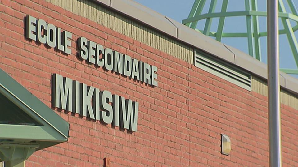 L'école secondaire Mikisiw.