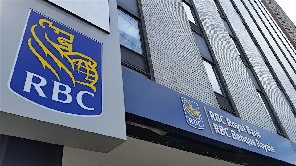 Une succursale de la Banque Royale du Canada (RBC)