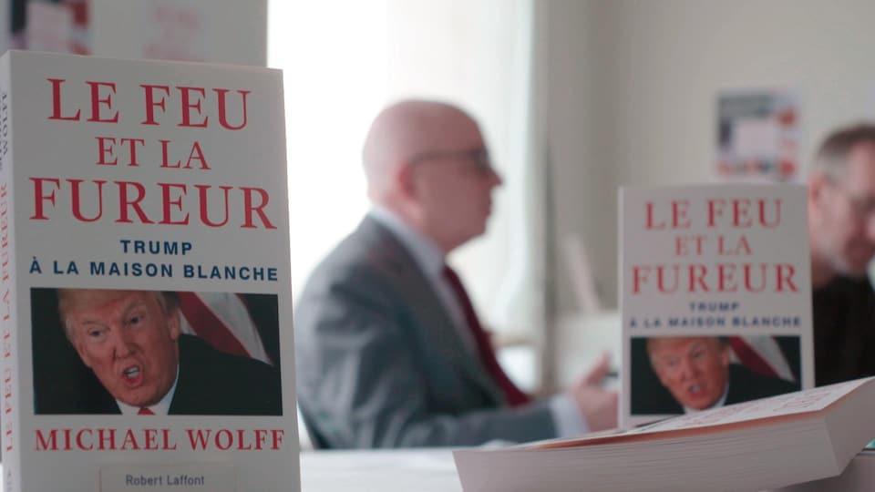 L'écrivain américain Michael Wolff présente la version française de son livre «Le feu et la fureur».