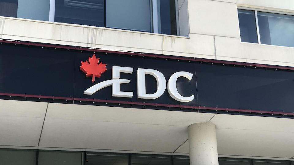 Les bureaux d'EDC à Québec.