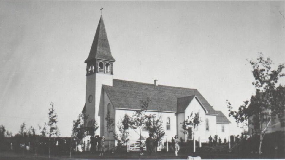L'église de Bonne Madone en 1926.