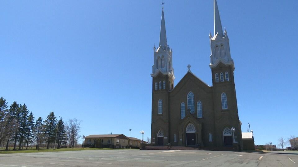 L'église de Tracadie.