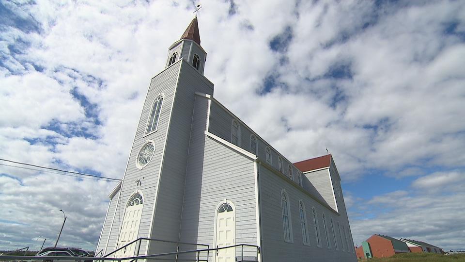 L'église de Rivière-au-Tonnerre