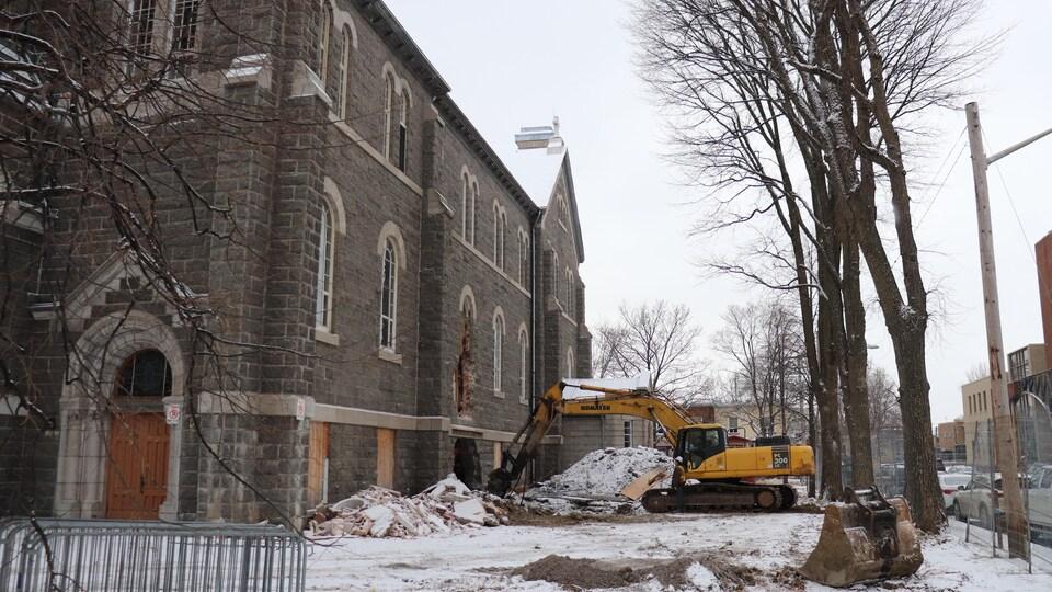 L'église Saint-François d'Assise sera remplacée par une tour d'habitation.