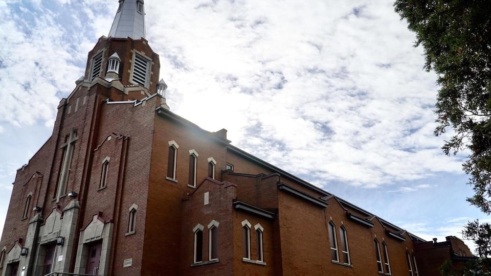L'église de Sainte-Marguerite-de-Cortone.