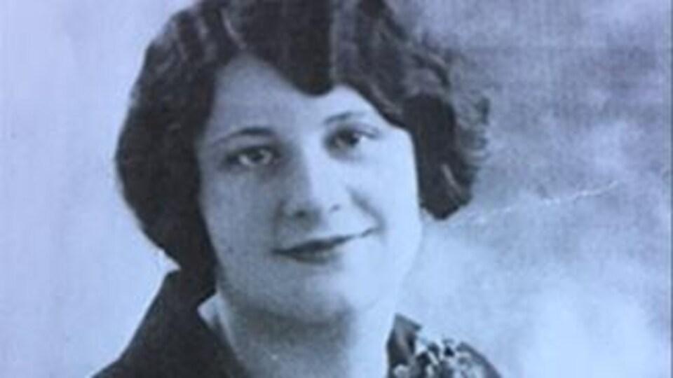 Ellen Gibb à 18 ans