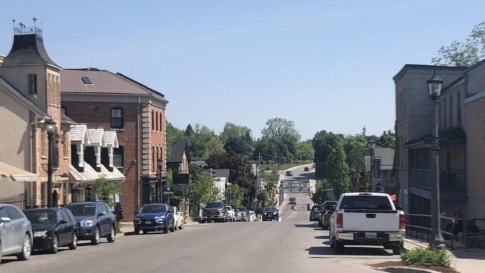 Village d'Elora en Ontario