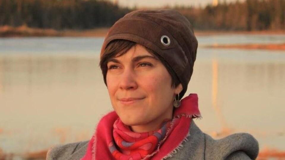 Portrait d'Emma Haché.