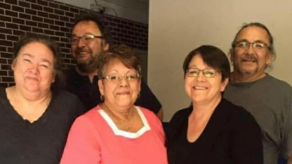 Une photo de famille.