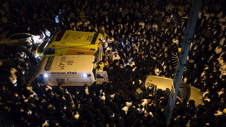 Funérailles en Israël.