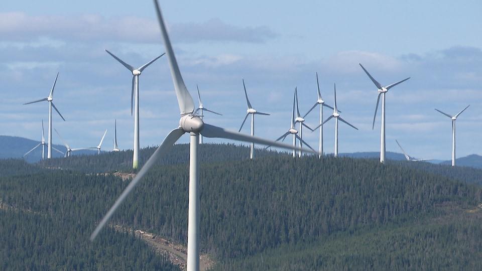 Les éoliennes de la Seigneurie de Beaupré