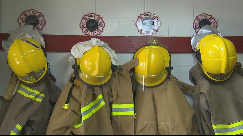 Équipement de pompier.