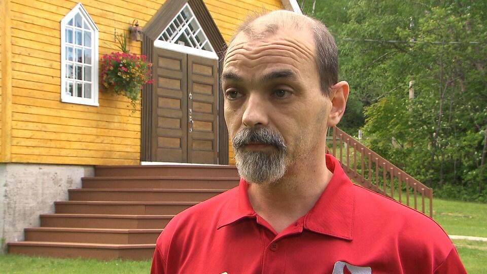 Éric Lévesque, guide muséal et agent de séjour touristique à Forestville