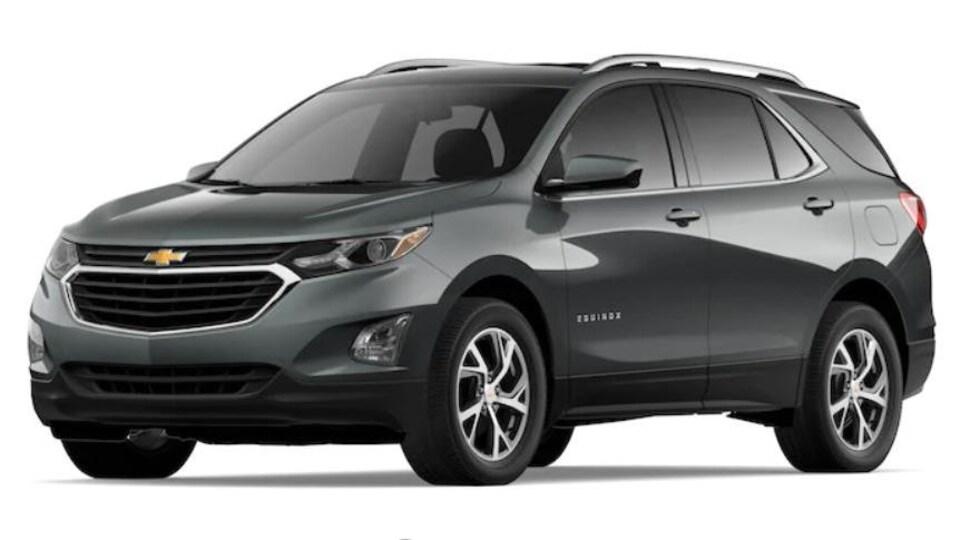 Une Chevy Equinox 2020 de couleur grise.