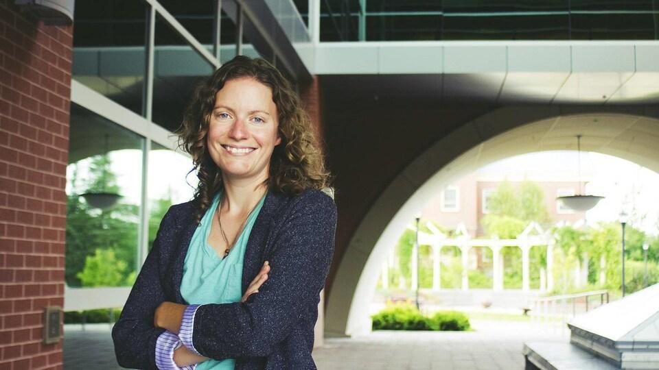 Erin Fredericks, professeure de sociologie à l'Université St. Thomas de Fredericton