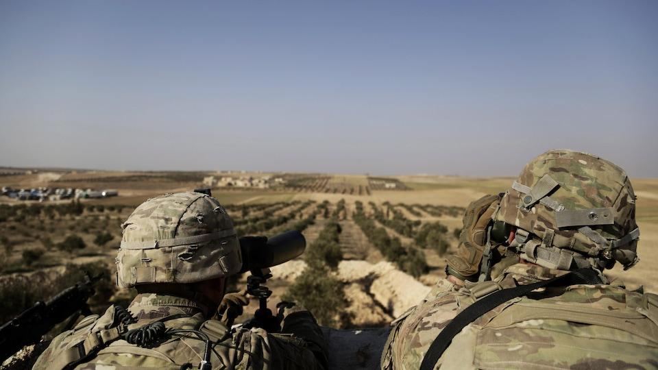 Kurdes: Trump menace de