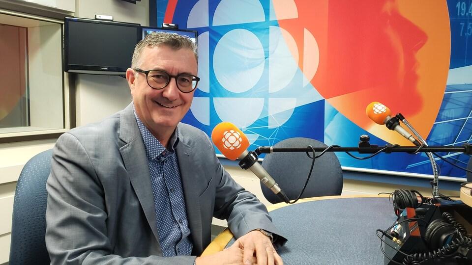 Étienne Jacques en entrevue.