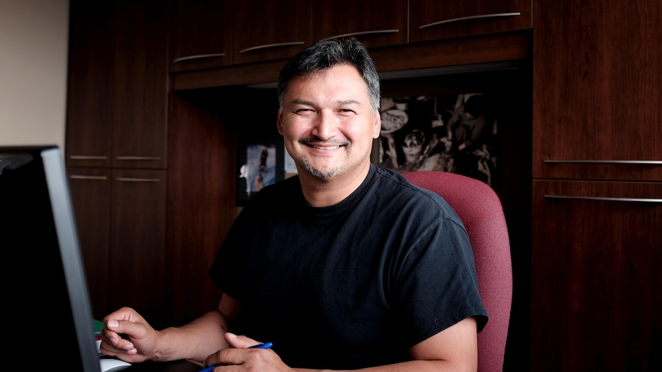 Etua Snowball, directeur des Services éducatifs de Kativik Ilisarniliriniq.