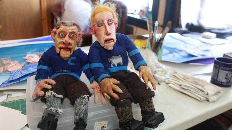 Marionnettes d'Evan Collis