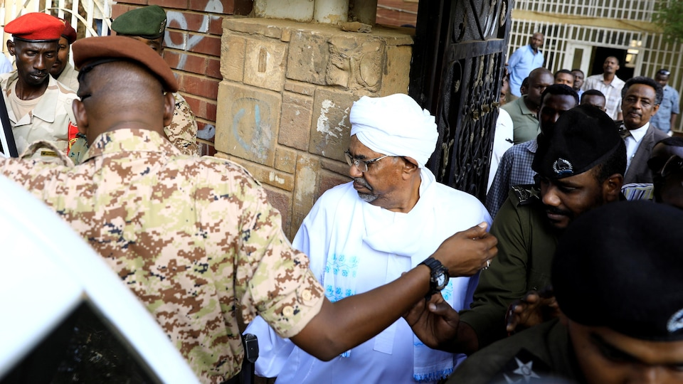 L'ex-président soudanais Omar El-Béchir