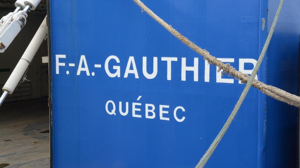 Le F.-A.-Gauthier.