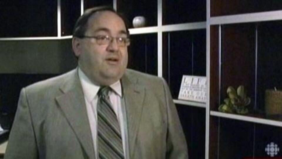 Fabien Hébert, directeur de l'hôpital de Smooth Rock Falls.