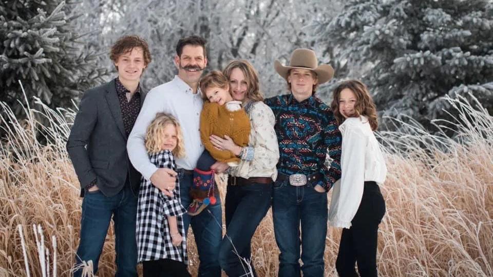 Une photo de la famille Balisky.