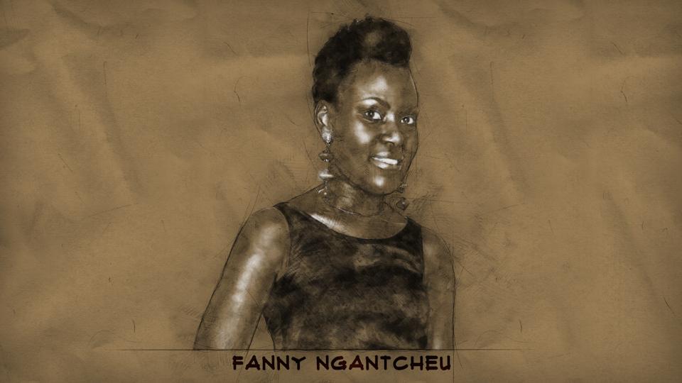 Illustration à partir d'une photo de Fanny Ngantcheu