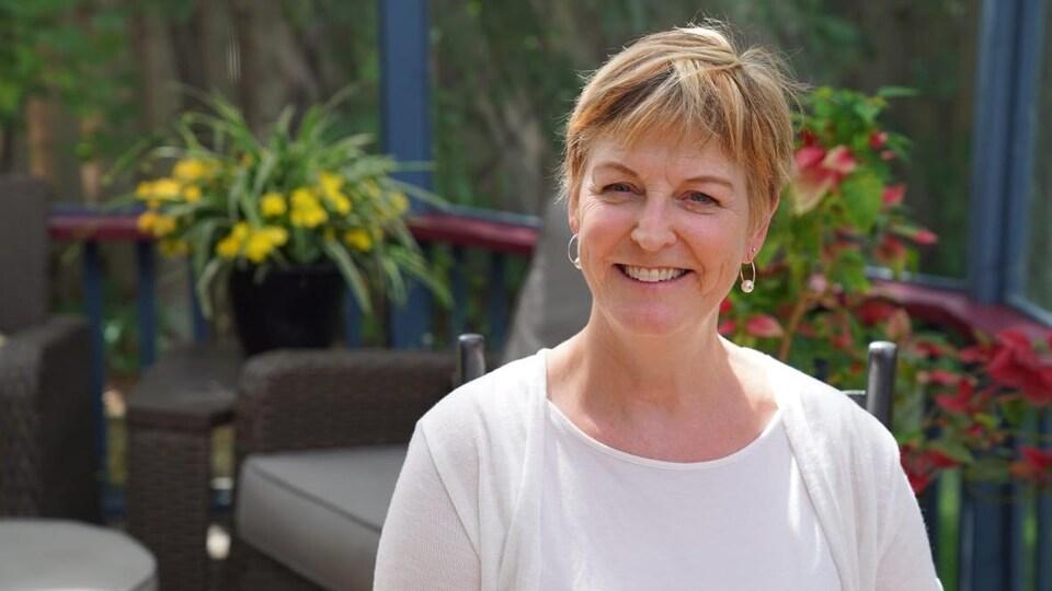 Le visage de Susan Prentice.