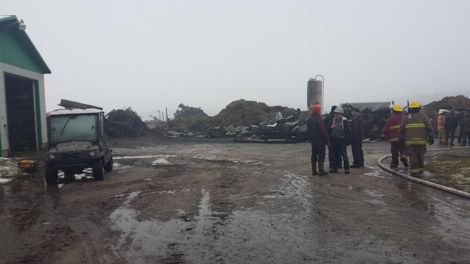 Les dommages sont évalués à près d'un million de dollars.
