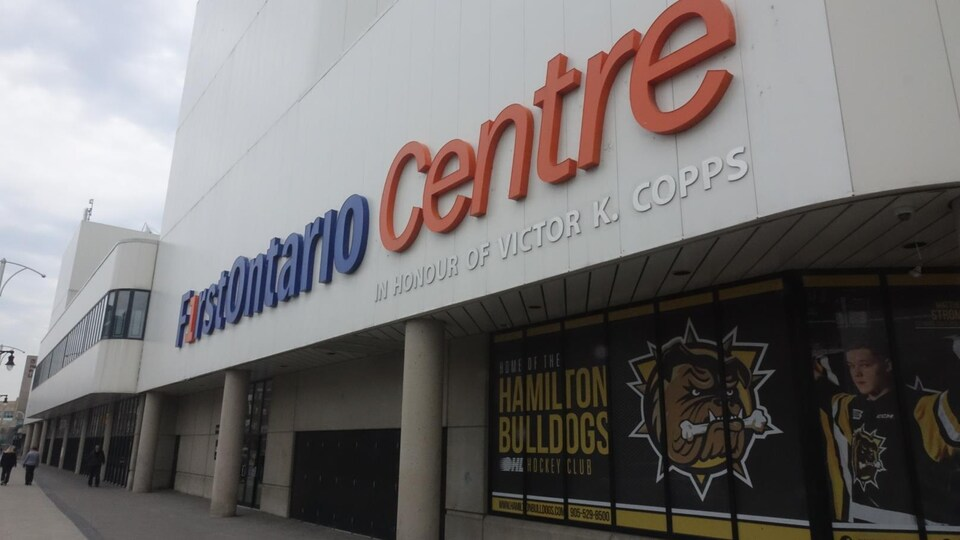L'aréna FirstOntario Centre va accueillir la Coupe Héritage en 2017 et 2018.