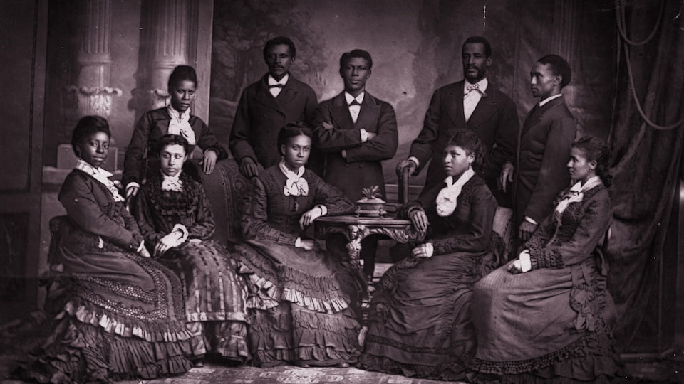 Les Fisk Jubilee Singers, une chorale afro-américaine.