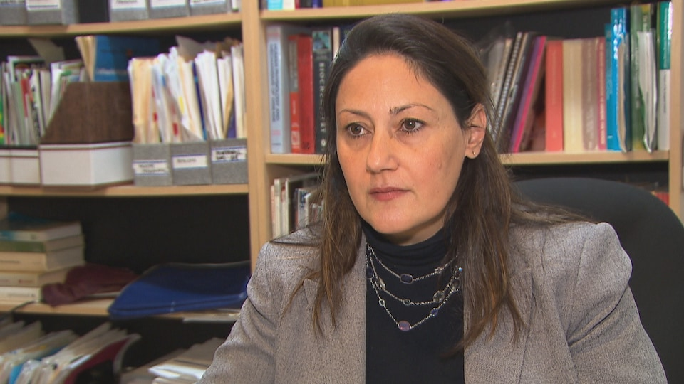 Flory Doucas, codirectrice de la Coalition québécoise pour le contrôle du tabac.