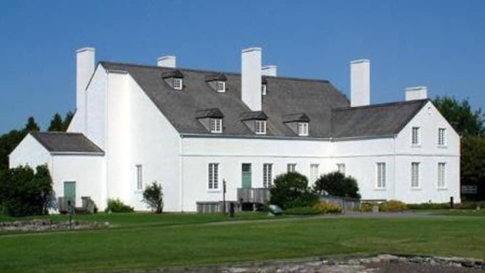 La bâtisse des Forges du Saint-Maurice