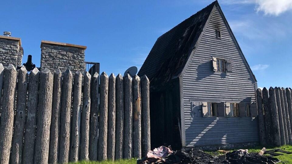 Une incendie a eu lieu à Fort La Tour mercredi matin.