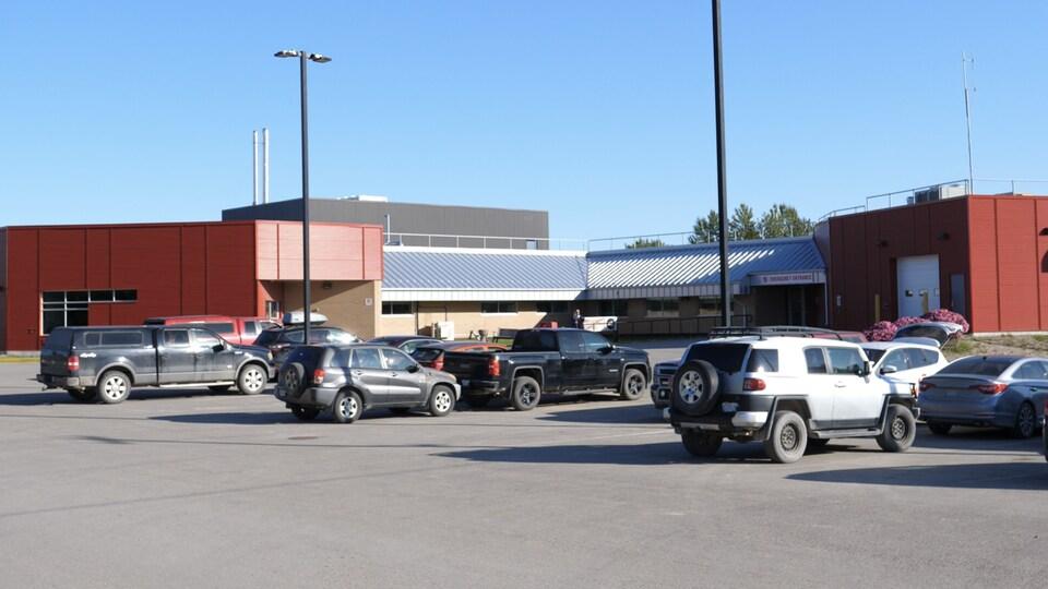 Le centre de santé de Fort Smith.