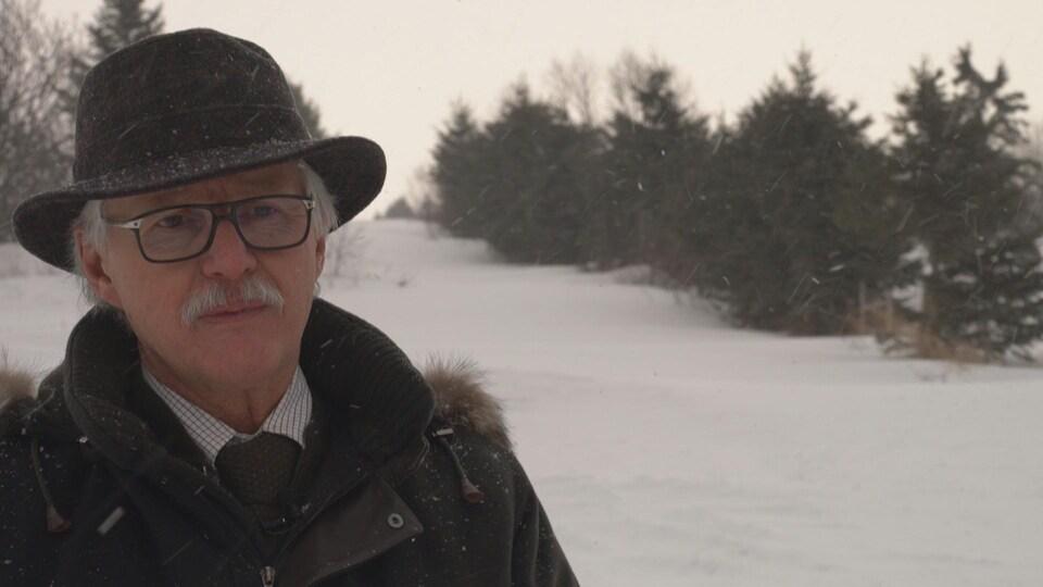 Serge Fortin, cofondateur de Pangea terres agricoles